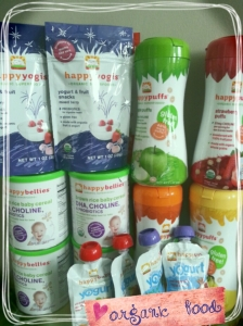 iherb purchases, organic baby food